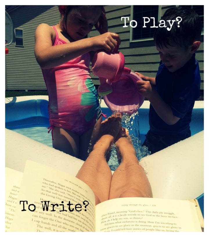 to play to write