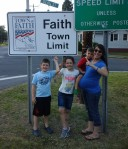 """On the upside, much to my daughter's excitement we found out there is a Faith, NC a mere 30 minutes from our house and the kids truly did love every moment of their time together.  During so many moments I found myself thinking """"this is all so worth it.  Its so so worth it."""""""