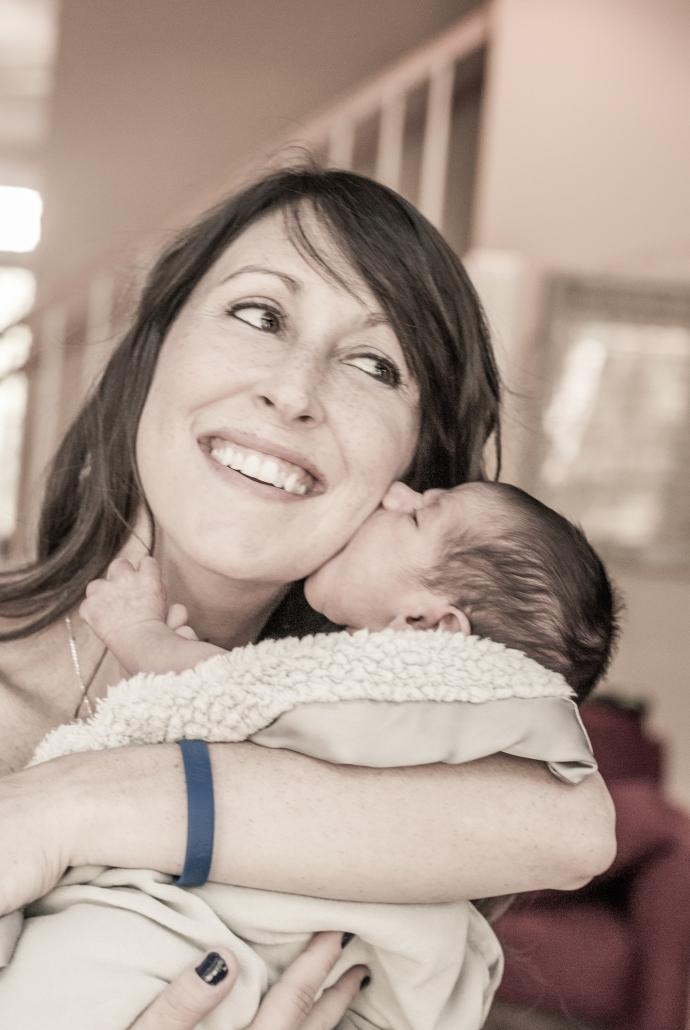 Samuel kisses for Mommy!!!