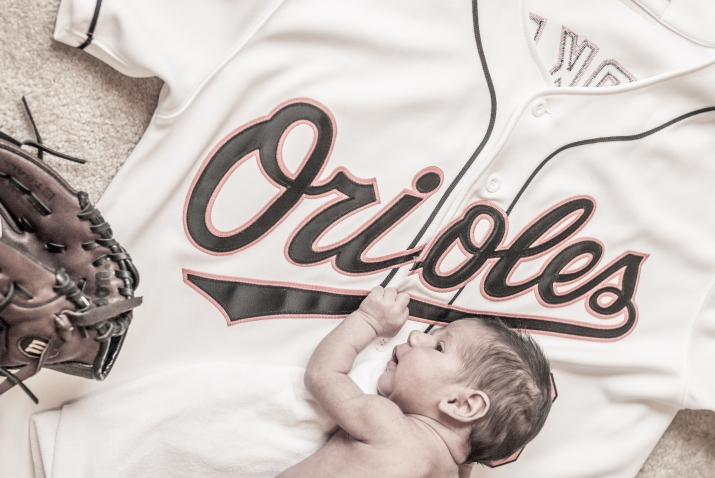 "This was a very important part of the story...afterall Samuel's middle name is ""Camden"" named proudly after Daddy's favorite baseball stadium in Maryland: Camden Yards."